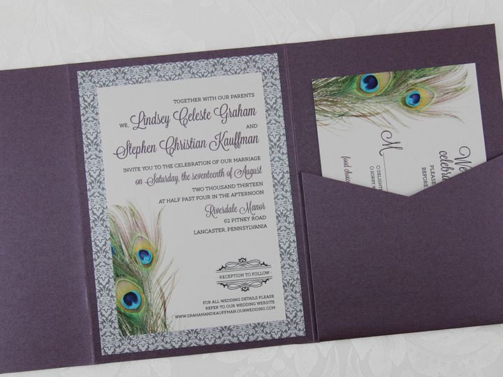 Tmx 1383077927114 Lindseystepheninvitatio Lancaster, Pennsylvania wedding invitation