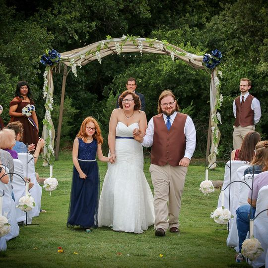 Wedding at the Pergola