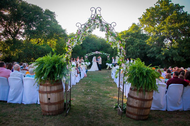 Wedding at Pergola