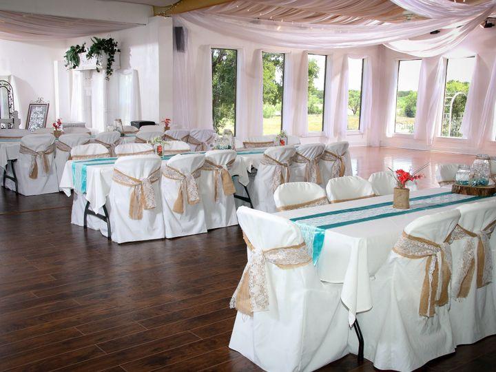 Tmx Aqua And Burlap Decor 51 118610 Clyde, TX wedding venue