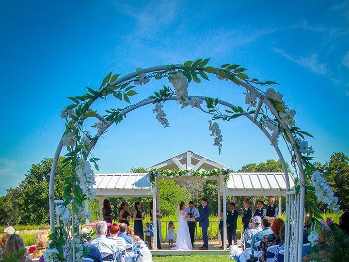 Tmx White Wisteria Arch 51 118610 157929041960694 Clyde, TX wedding venue