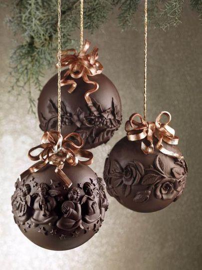 christmasornamentschocolate