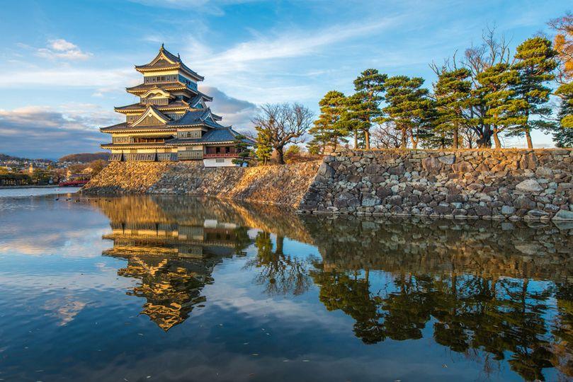 bigstock matsumoto castle national tre 78412667