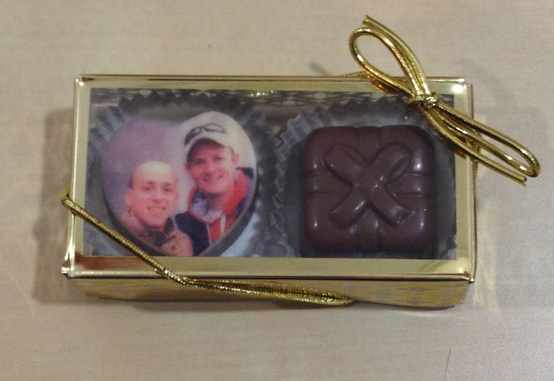 Belgian Truffles!  Personalize with your photo and/or special message. The image is edible! A...