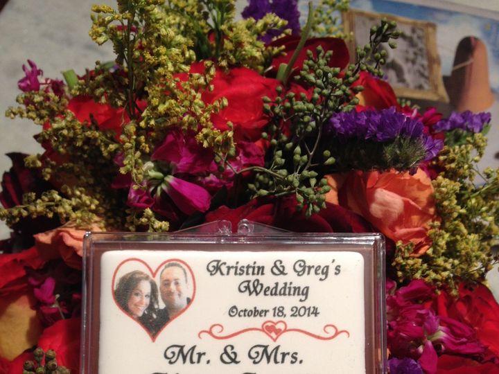 Tmx 1414632674437 Chocolate With Edible Image   Seating Card   Kg Merrick wedding favor