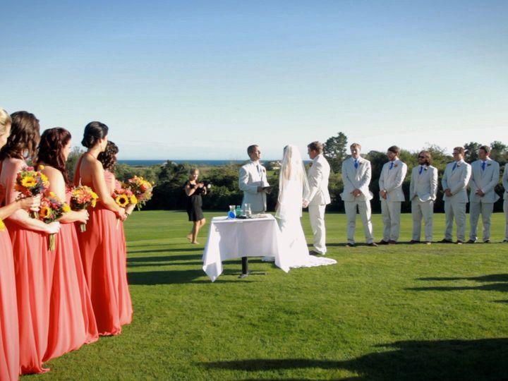 Tmx 1425581965638 Ceremonysideshot2 Newton wedding videography