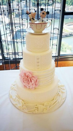 Sugar Street Bakery & Bistro - Wedding Cake - Portland, OR - WeddingWire
