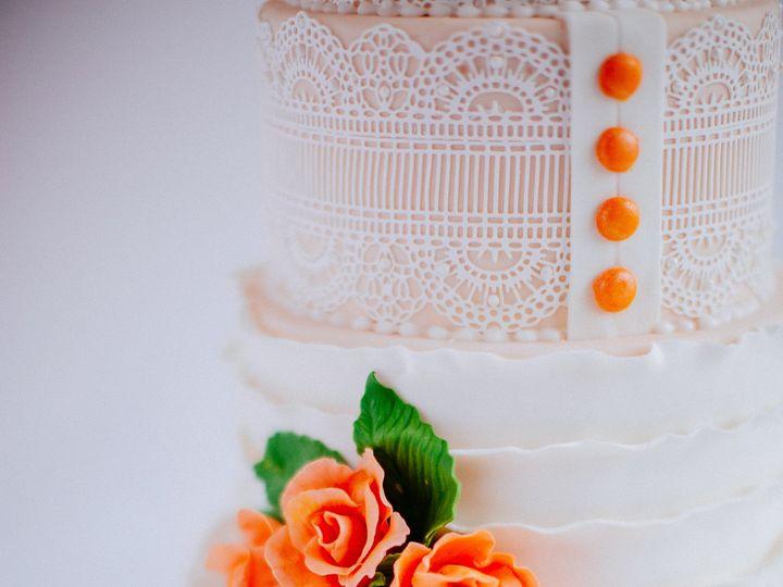 Tmx 1500071499481 Sugarstreet Lace Portland, Oregon wedding cake
