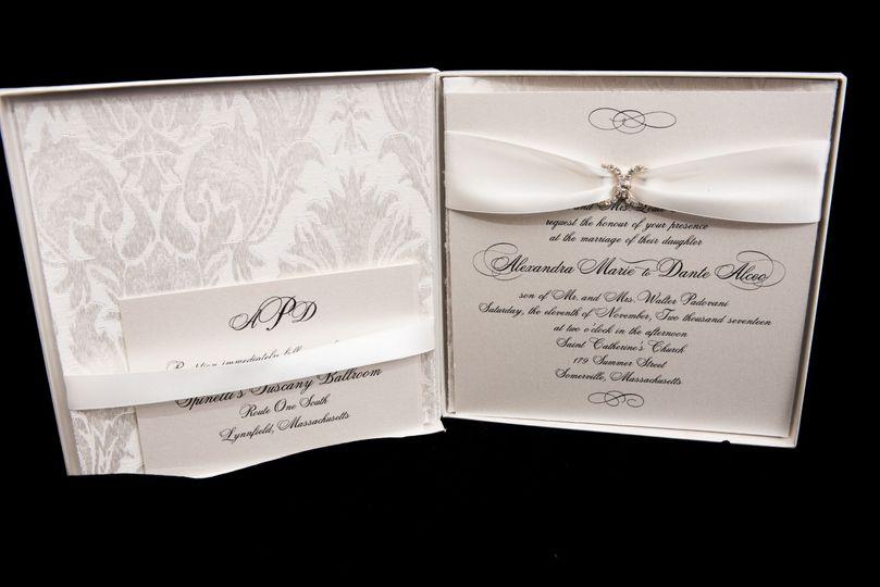 Custom Box and Invitation