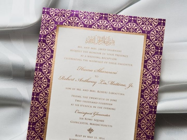 Tmx 1447784697421 Pakistanwed Lynn, Massachusetts wedding invitation