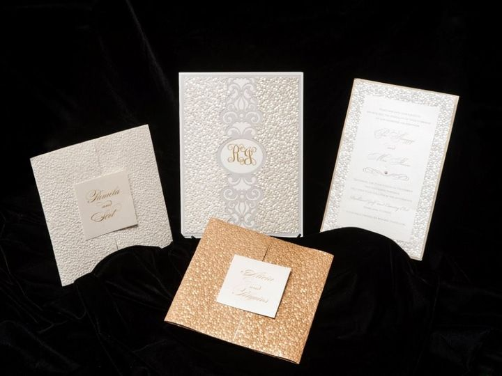 Tmx 1447855553788 Goldgroup Lynn, Massachusetts wedding invitation