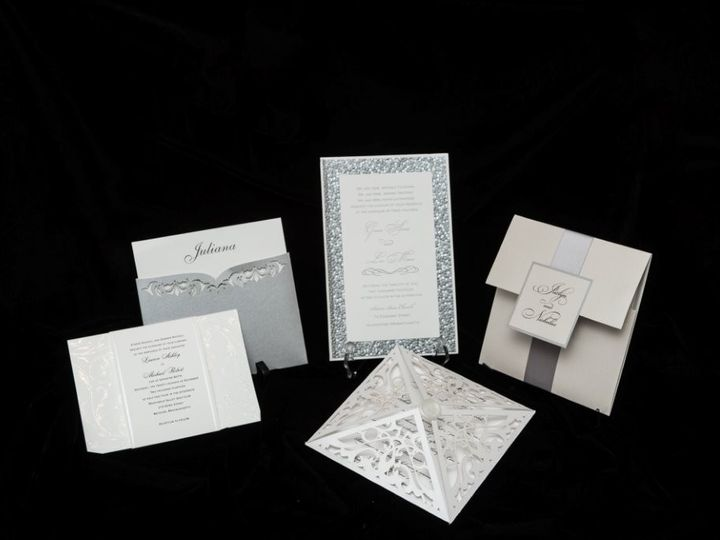 Tmx 1447855622788 Silvergroup Lynn, Massachusetts wedding invitation