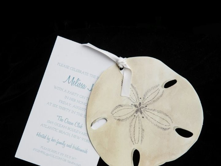 Tmx 1447856117807 Sanddollar Lynn, Massachusetts wedding invitation