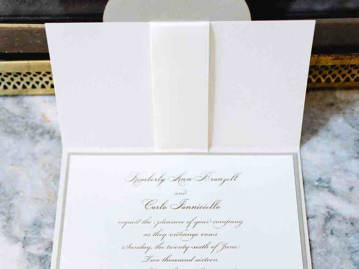 Tmx 1497275401480 Kim2 Lynn, Massachusetts wedding invitation