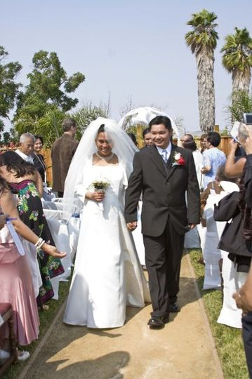 Mona & Kim - completed the exchange of marriage vows