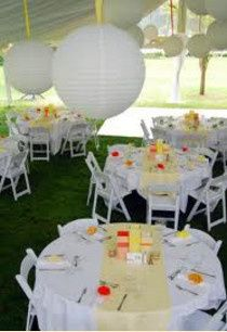 Wedding receptiion setup