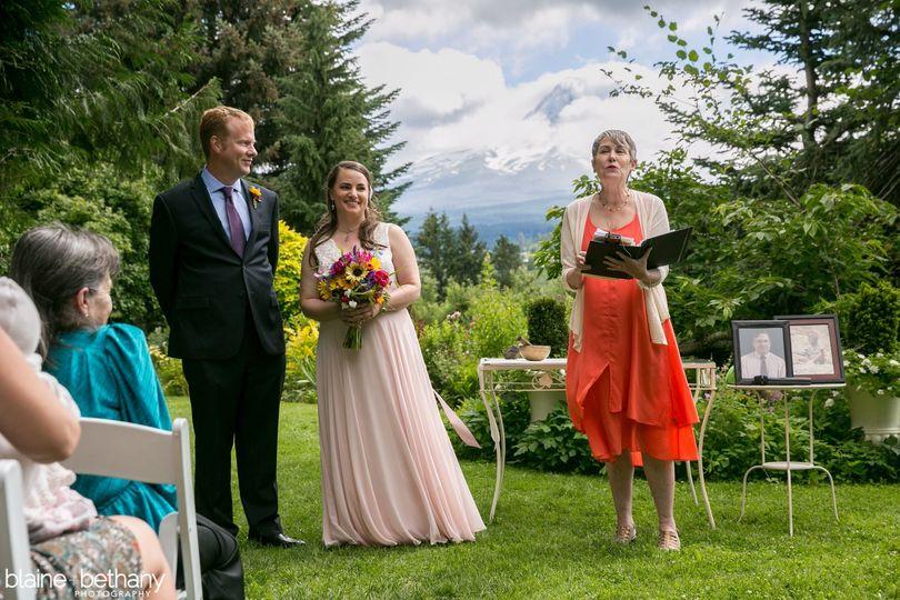 Heidi Yorkshire, Wedding Officiant, Portland, OR