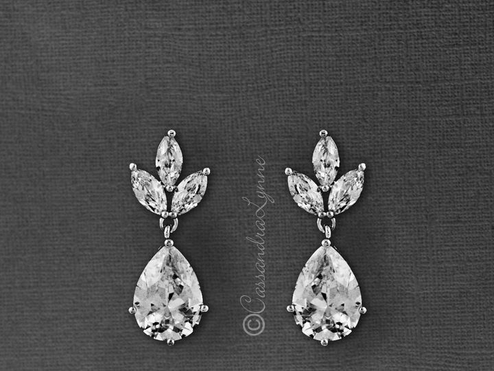 Tmx Classic Drop Cz Earrings 51 356710 158731296947338 Kansas City wedding dress