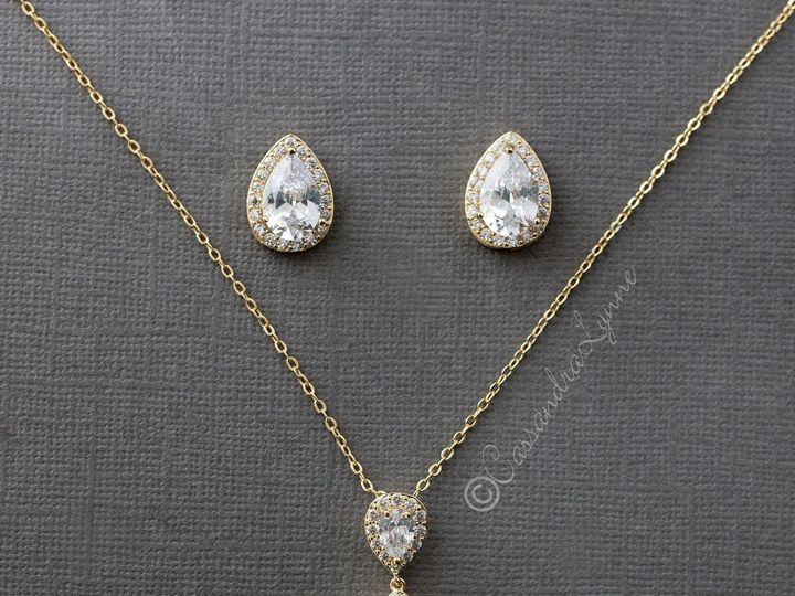Tmx Cz Pendant Necklace Set 51 356710 158731303483913 Kansas City wedding dress