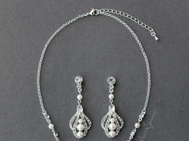 Tmx Regal Pearl Necklace Set 51 356710 158731303627791 Kansas City wedding dress