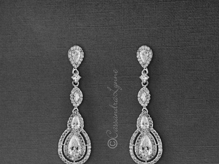 Tmx Vintage Drop Cz Earrings 51 356710 158731296945642 Kansas City wedding dress