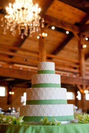Tmx 1427836933055 White And Spring Green Wedding Cake Water Mill, NY wedding catering