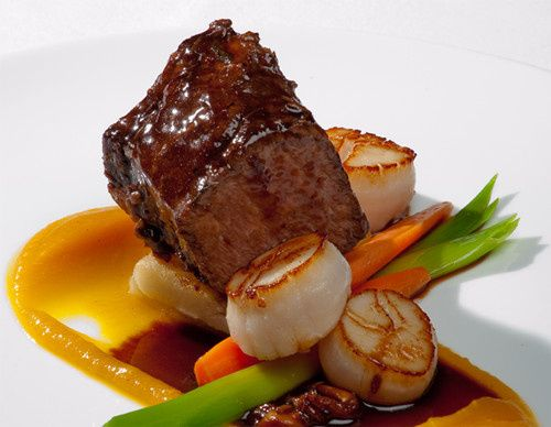 Tmx 1427837037293 9 Wedding 2015 Steak Scallops Water Mill, NY wedding catering