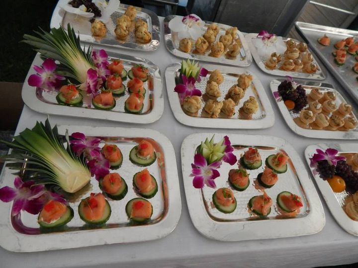 Tmx 1427837050176 2015 Wedding Web Canape   Kohana Trays Water Mill, NY wedding catering