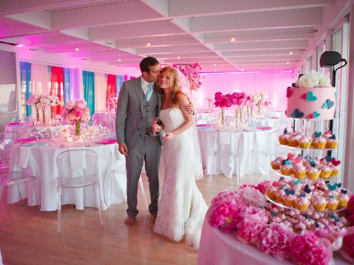 Tmx 1427837068542 Pink Wedding Theme Water Mill, NY wedding catering