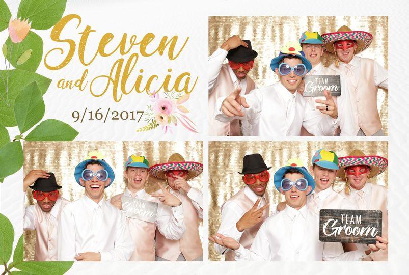 Steven and Alicia event