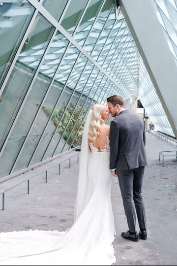 Bride and jen