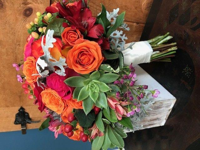 Tmx 1510749896439 Fall Wedding Bqt Bethel, CT wedding florist