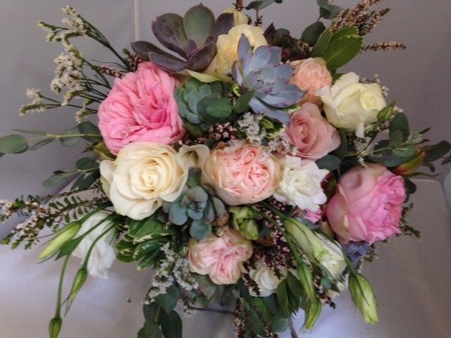 Tmx 1510750024367 Bouquet With Succulents1 Bethel, CT wedding florist