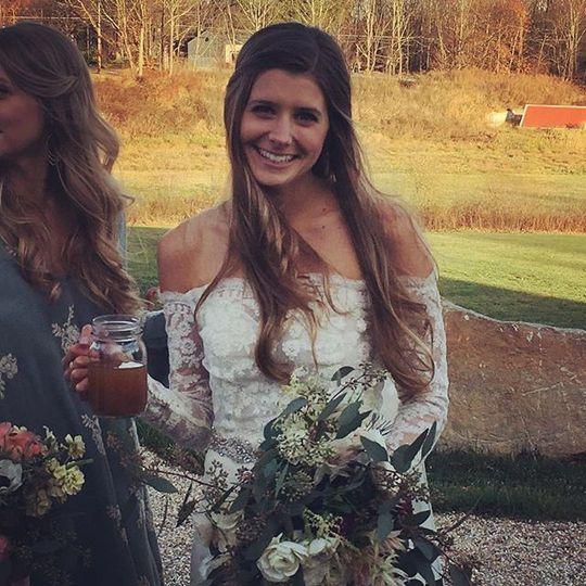 Bride's portrai