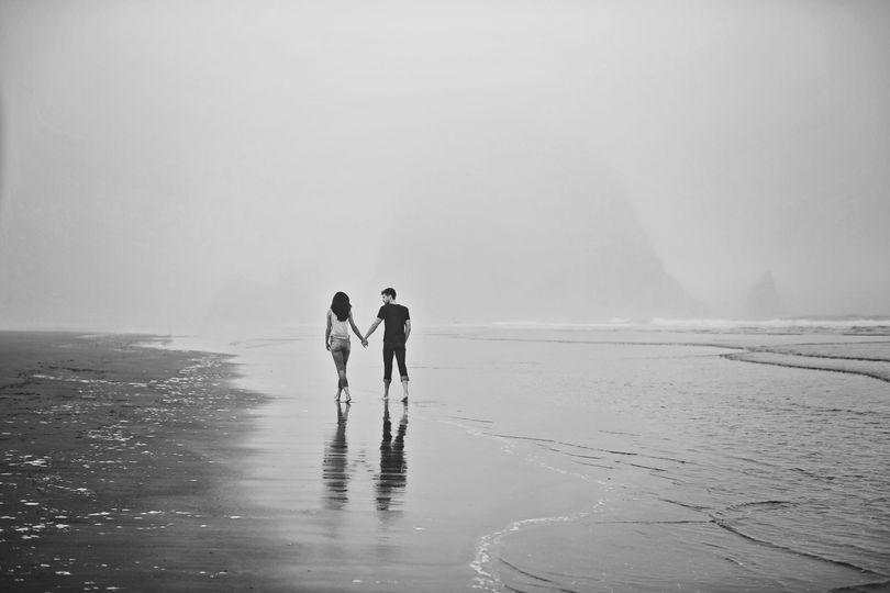 Cannon Beach, Oregon couples portraits