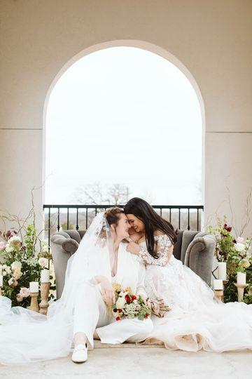 Same Sex Vineyard Wedding