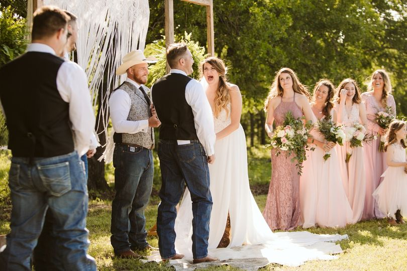 Rustic Boyd TX Wedding