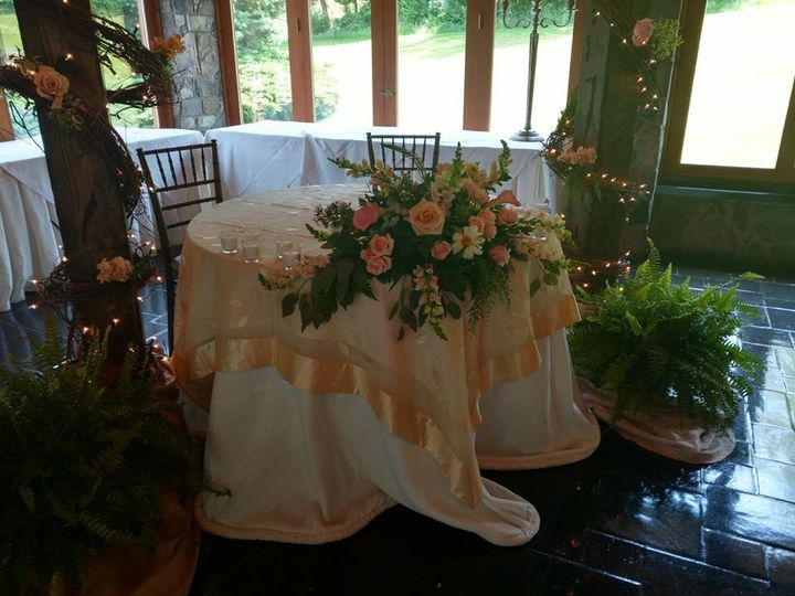 Tmx 1502554385628 Head Table Swag Stroudsburg, PA wedding florist