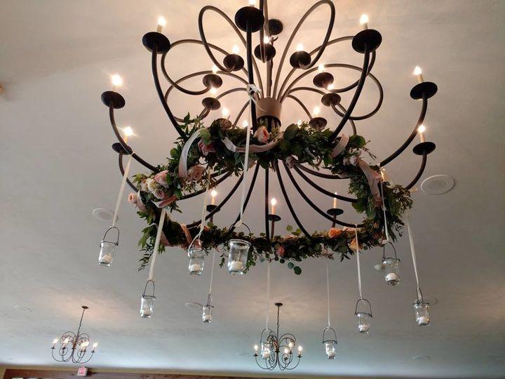 Tmx 1502554608841 Chandilier W Tealights Stroudsburg, PA wedding florist