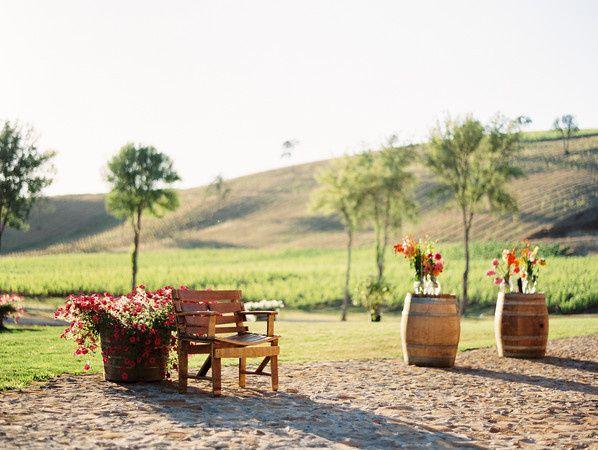 Exterior view of the Maysara Winery