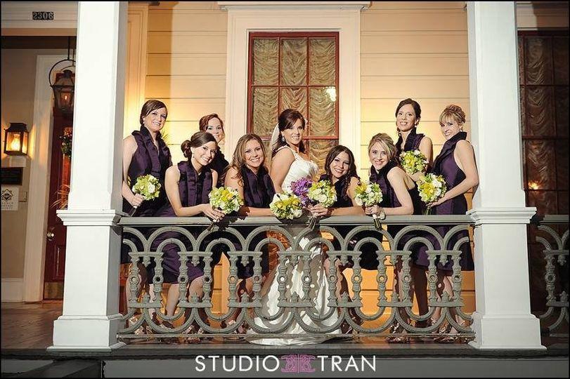BridalPartyonBalcony