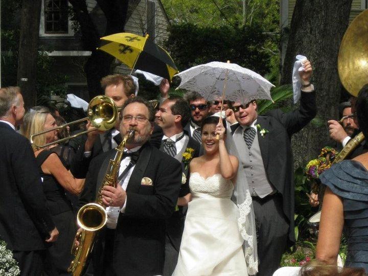 Tmx 1364226846134 SecondLineoutside New Orleans wedding