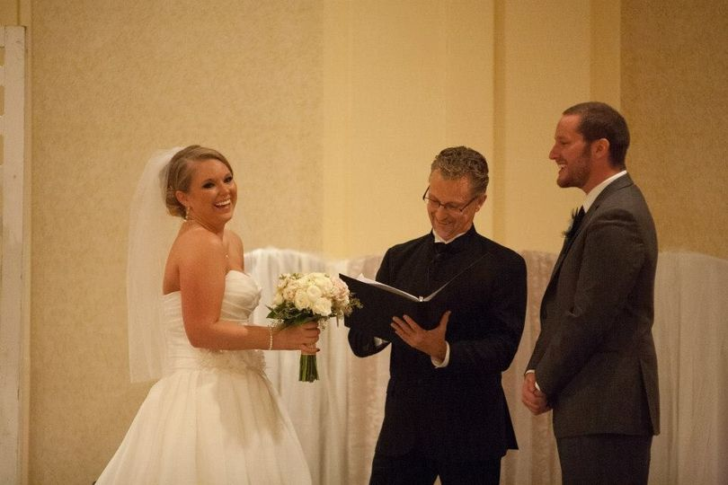 Amanda and Chris... This couple was so playful and fun, that it was a true joy to be the celebrant...