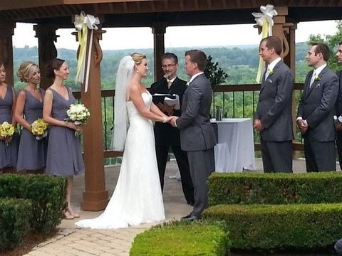 The setting was the Pine Knob Mansion and the day was as beautiful as the bride!