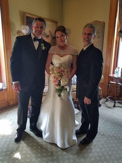 A wonderful couple that truly were perfect together!  The ceremony took place on the second floor...