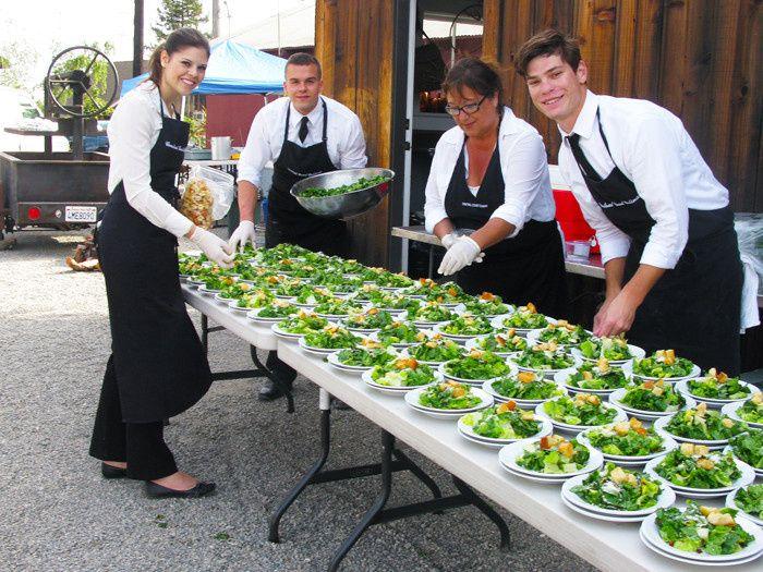 Tmx 1404313877569 Saladprepccccrew San Luis Obispo wedding catering