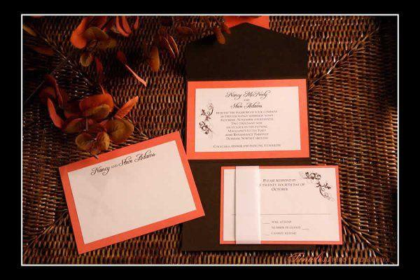 Tmx 1275449062311 NancyandSteve Cary wedding invitation