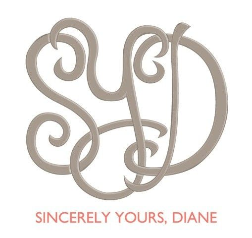 Sincerely Yours, Diane