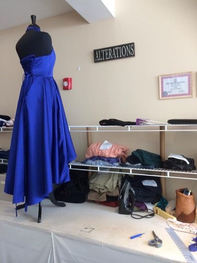 Alterations done in store