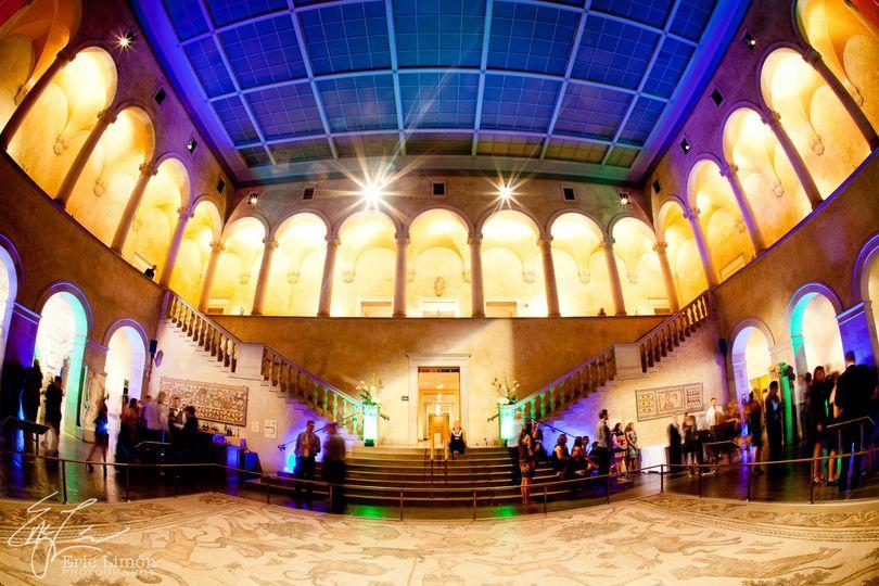 Beautiful venue for a wedding